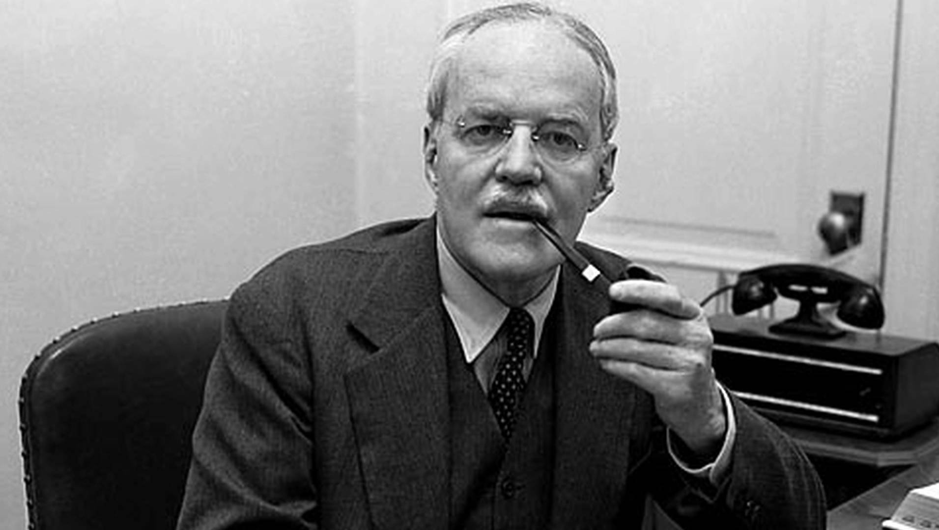 The then CIA director Allen W. Dulles