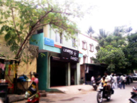 The export surplus shop below my house in Chennai where I chanced upon my first piece of WBA merchandise