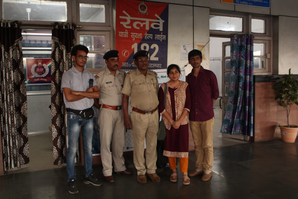 Public Police interaction Program at Tatanagar Junction